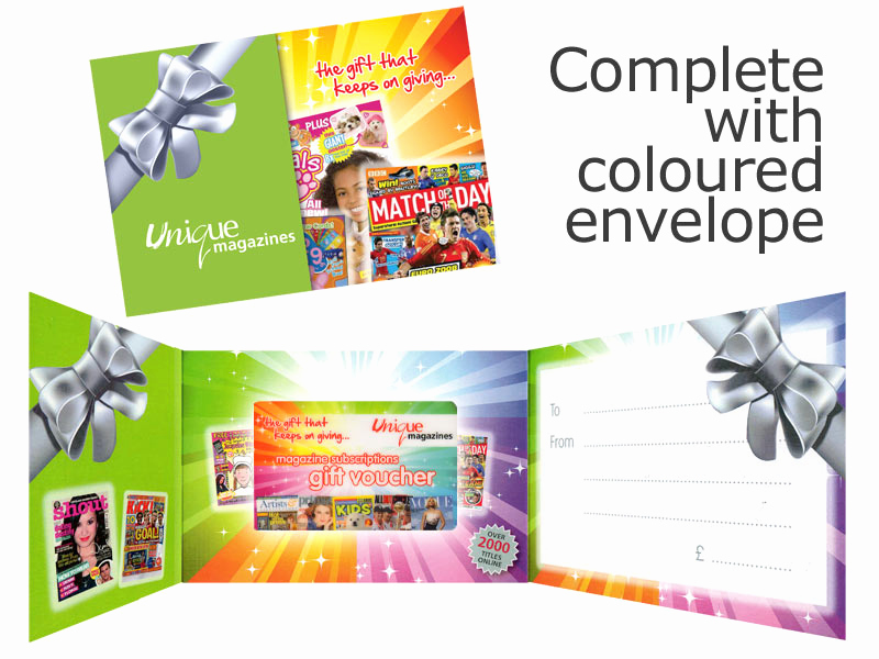 Magazine Subscription Gift Certificate Template Fresh Post A Magazine Subscription Gift Voucher
