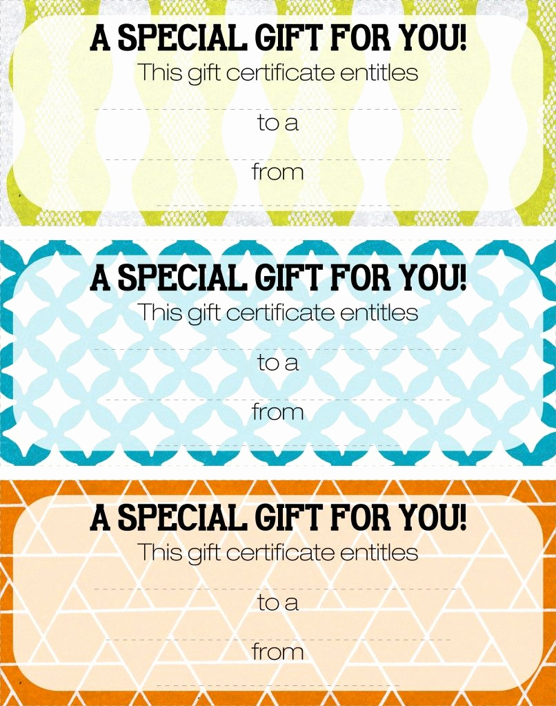 Magazine Subscription Gift Certificate Template Unique Pretty Printable Coupons Gift Ideas