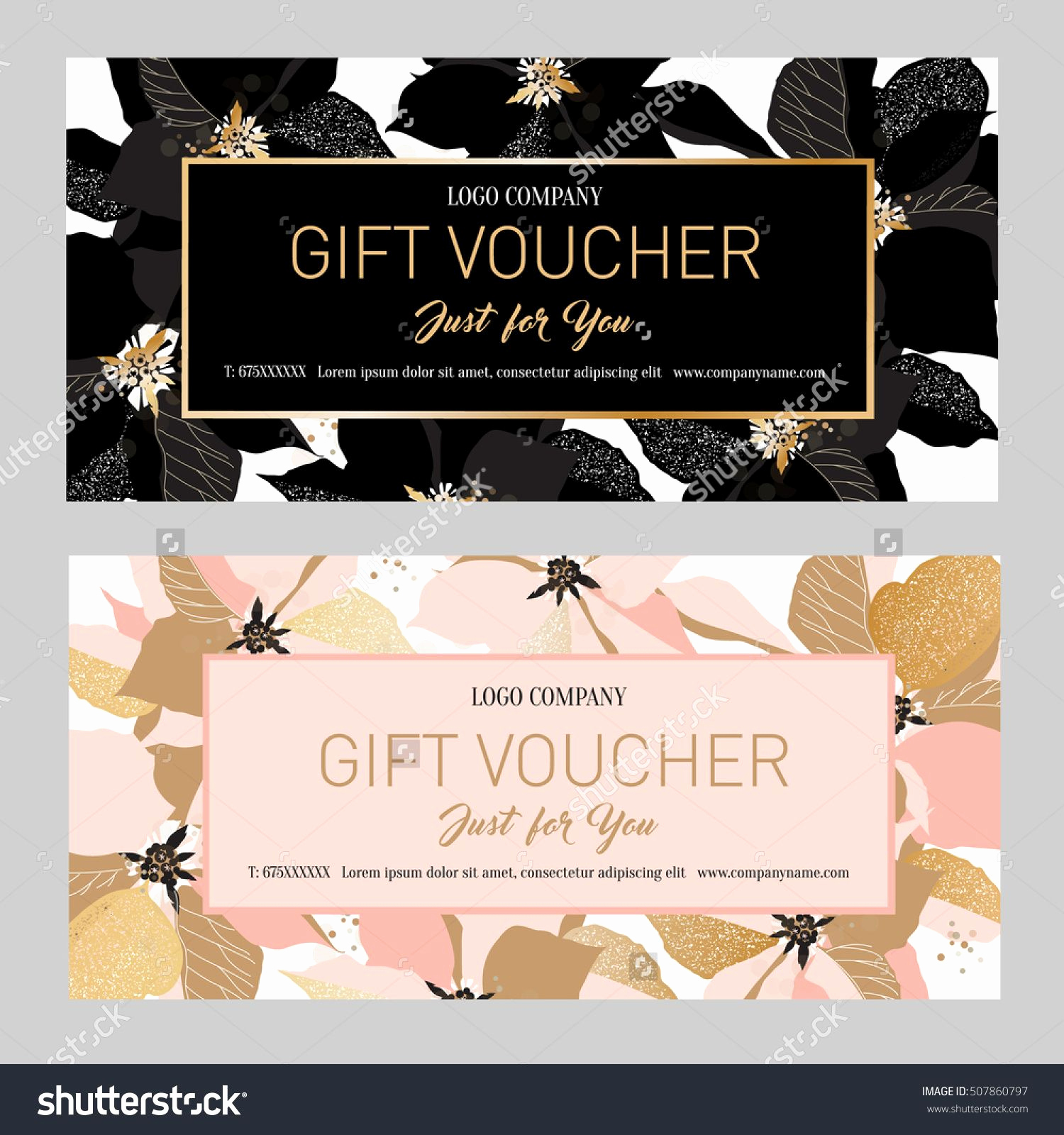 Makeup Gift Certificate Template Luxury Beauty Gift Voucher Template Free