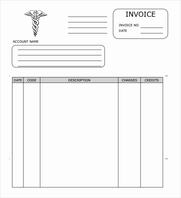 Medical Billing Invoice Template Awesome Free 16 Sample Medical Invoice Templates In Google Docs