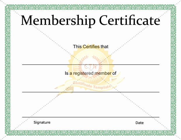 Membership Certificate Llc Template Elegant Membership Certificate Inc and Llc