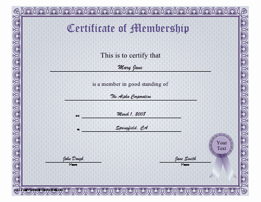 Membership Certificate Llc Template Inspirational 29 Of Membership Certificate Template
