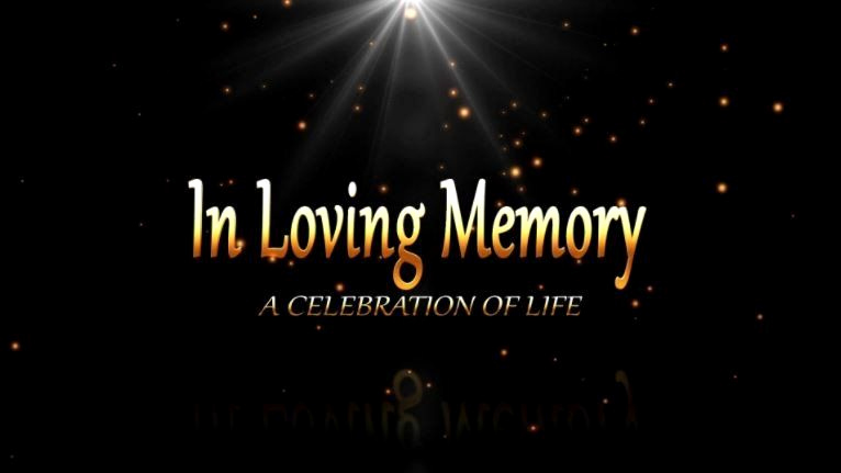 Memorial Slideshow Template Powerpoint Inspirational Memorial Presentation Introduction for Funeral Tribute