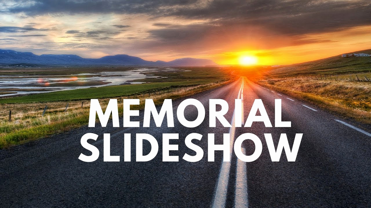 Memorial Slideshow Template Powerpoint Unique Funeral Memorial Montage Slideshow Presentation
