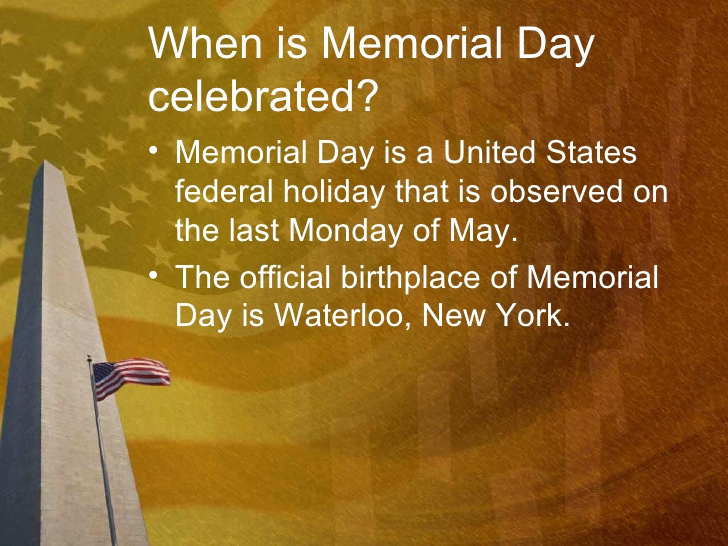 Memorial Slideshow Template Powerpoint Unique Memorial Day Powerpoint Presentation Ppt Template