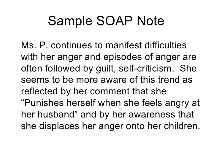 Mental Health soap Note Template Elegant soap Note Template Counseling Google Search …
