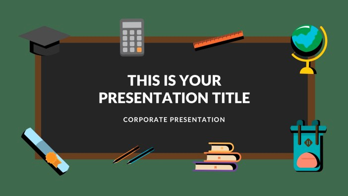 Menu Board Template Powerpoint Lovely 20 Free Google Slides for Teachers and Students
