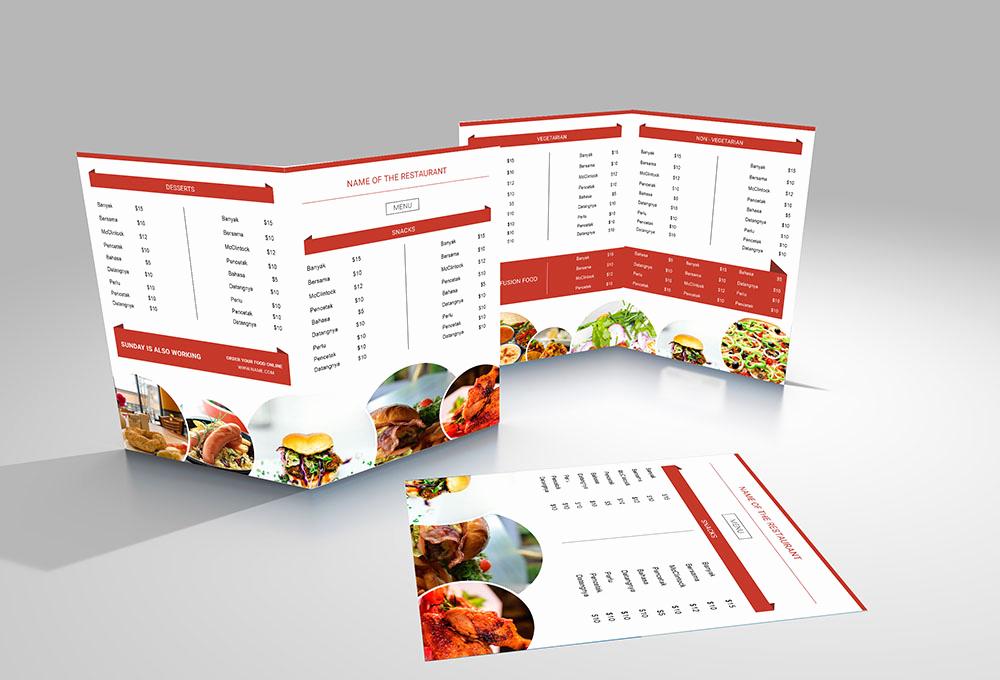 Menu Design Ideas Template Awesome 50 Free Psd Restaurant Flyer Menu Templates