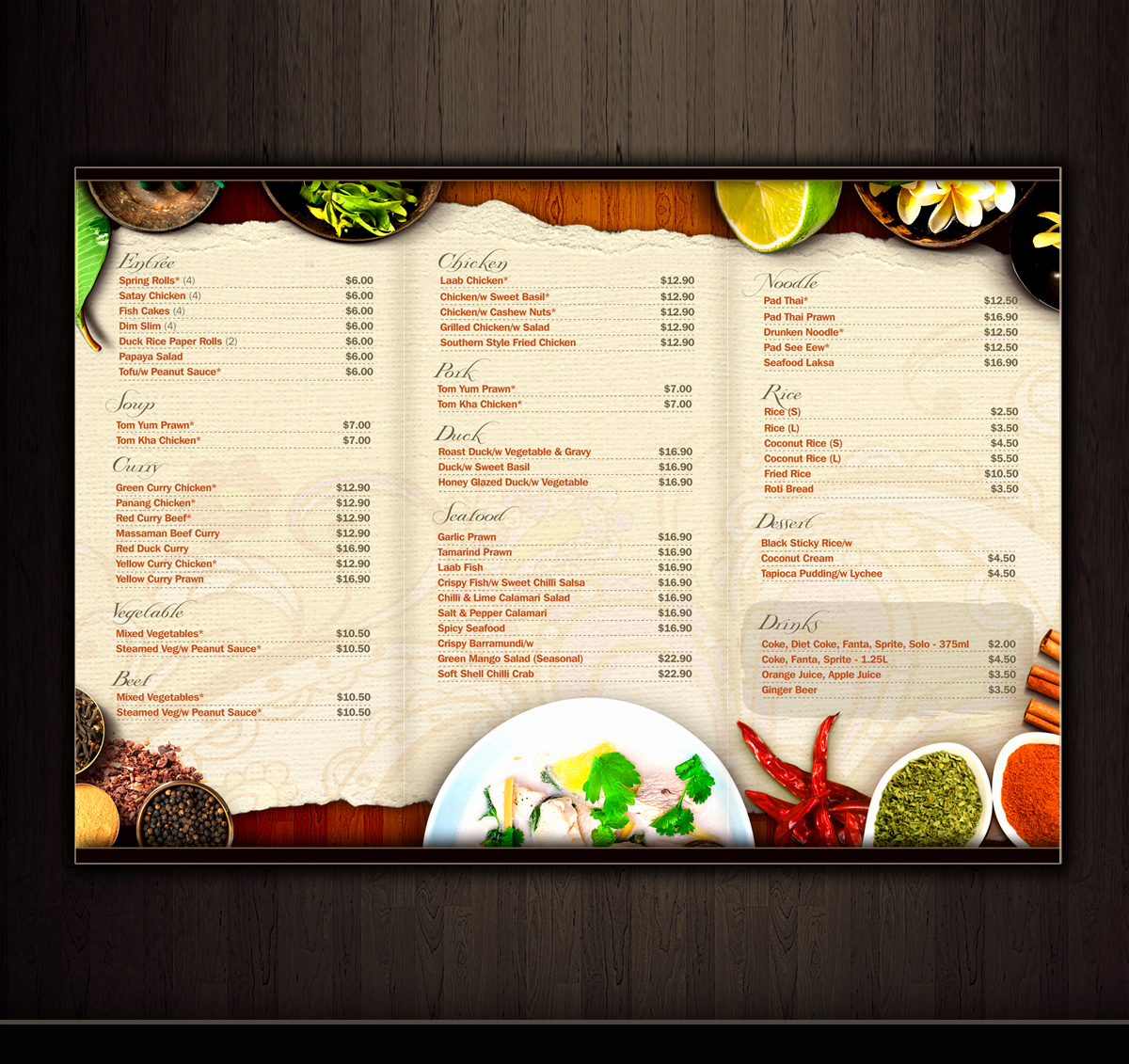 Menu Design Ideas Template Beautiful 5 Alternative Uses Of A Brochure