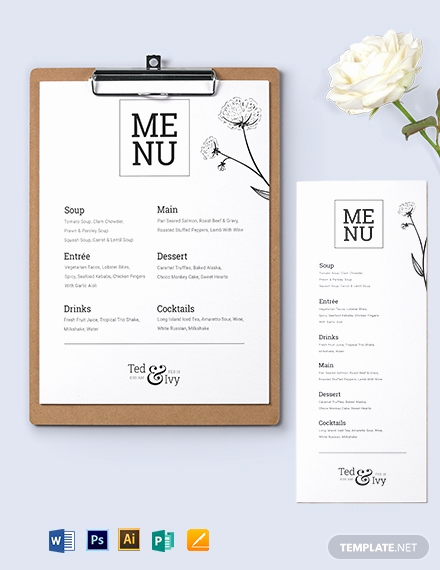 Menu Design Ideas Template Best Of 75 Free Menu Templates Pdf Word Psd