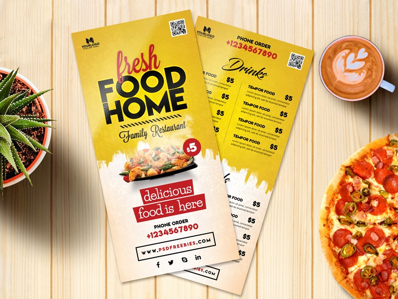 Menu Design Ideas Template Inspirational Free 14 Menu Card Samples In Psd Ai Eps Vector