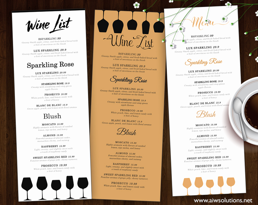 Menu Design Ideas Template Lovely Food Menu Restaurant Menu – Aiwsolutions