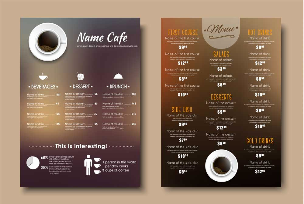 Menu Design Ideas Template Luxury 6 Best Menu Design tools for Busy Restaurateurs Ezcater