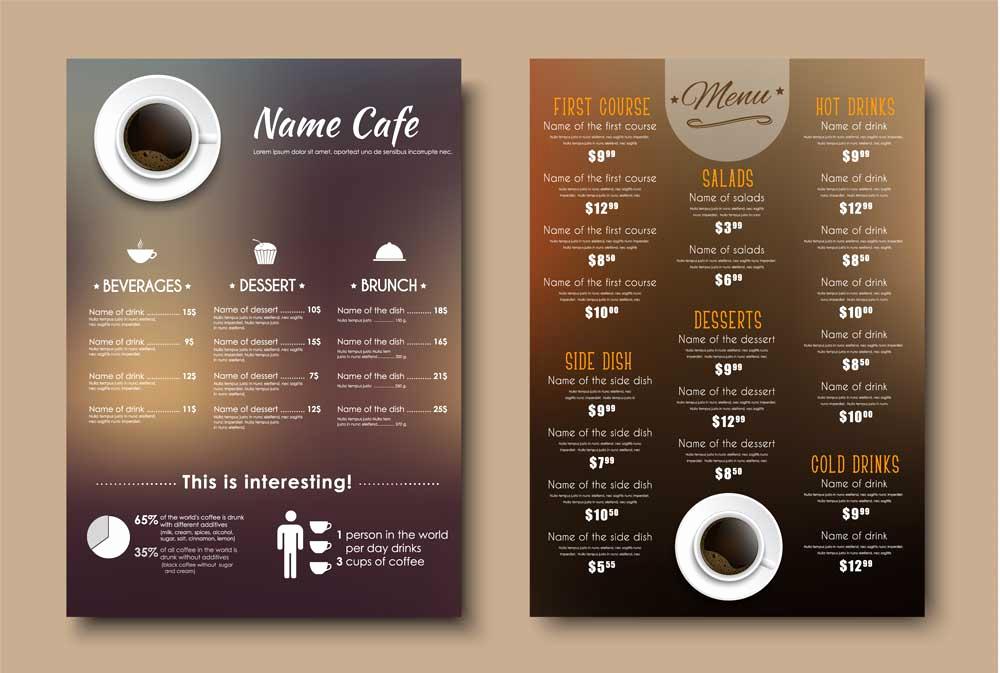 Menu Design Ideas Template Luxury 6 Best Menu Design tools for Busy Restaurateurs Ezcater