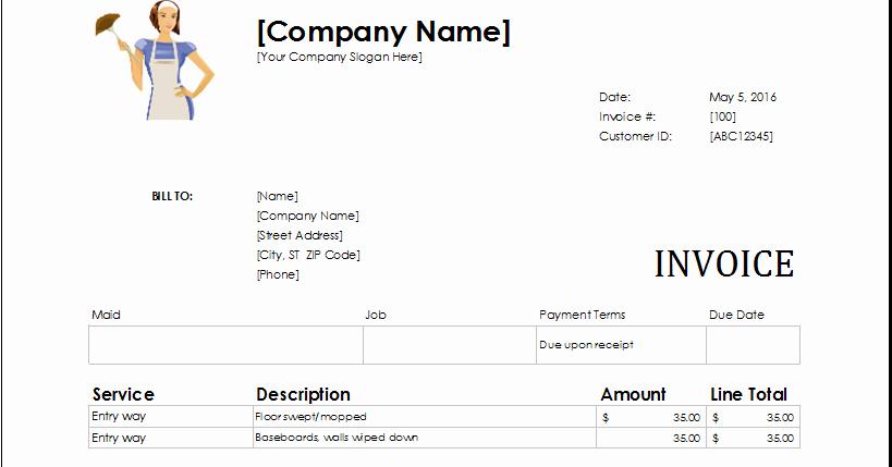 Microsoft Access Invoice Template Beautiful Download Ms Excel Service Invoice Templates Excel Template