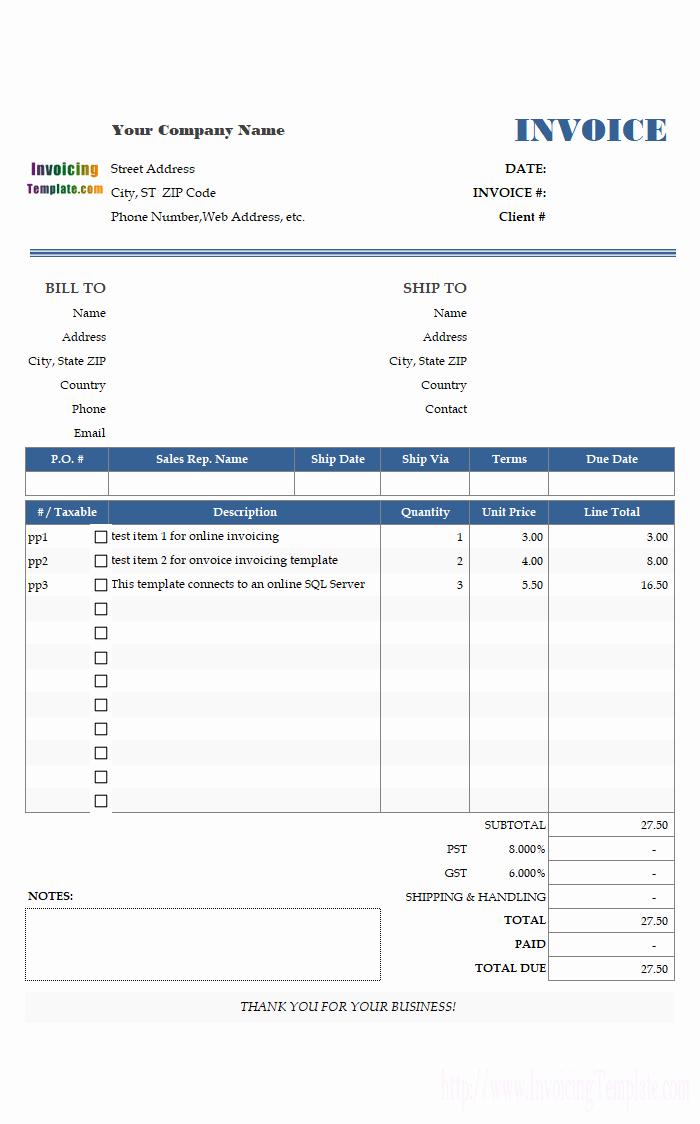 Microsoft Access Invoice Template New Microsoft Access Invoice Template