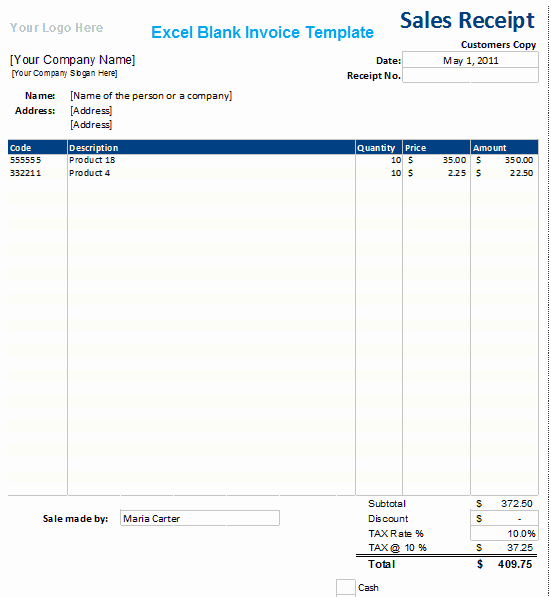 Microsoft Access Invoice Template New Ms Excel Blank Invoice Template Xls Microsoft Excel