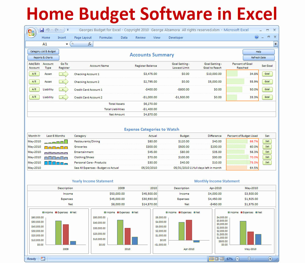 Microsoft Excel Budget Template Best Of Personal Bud Ing software Excel Bud Spreadsheet