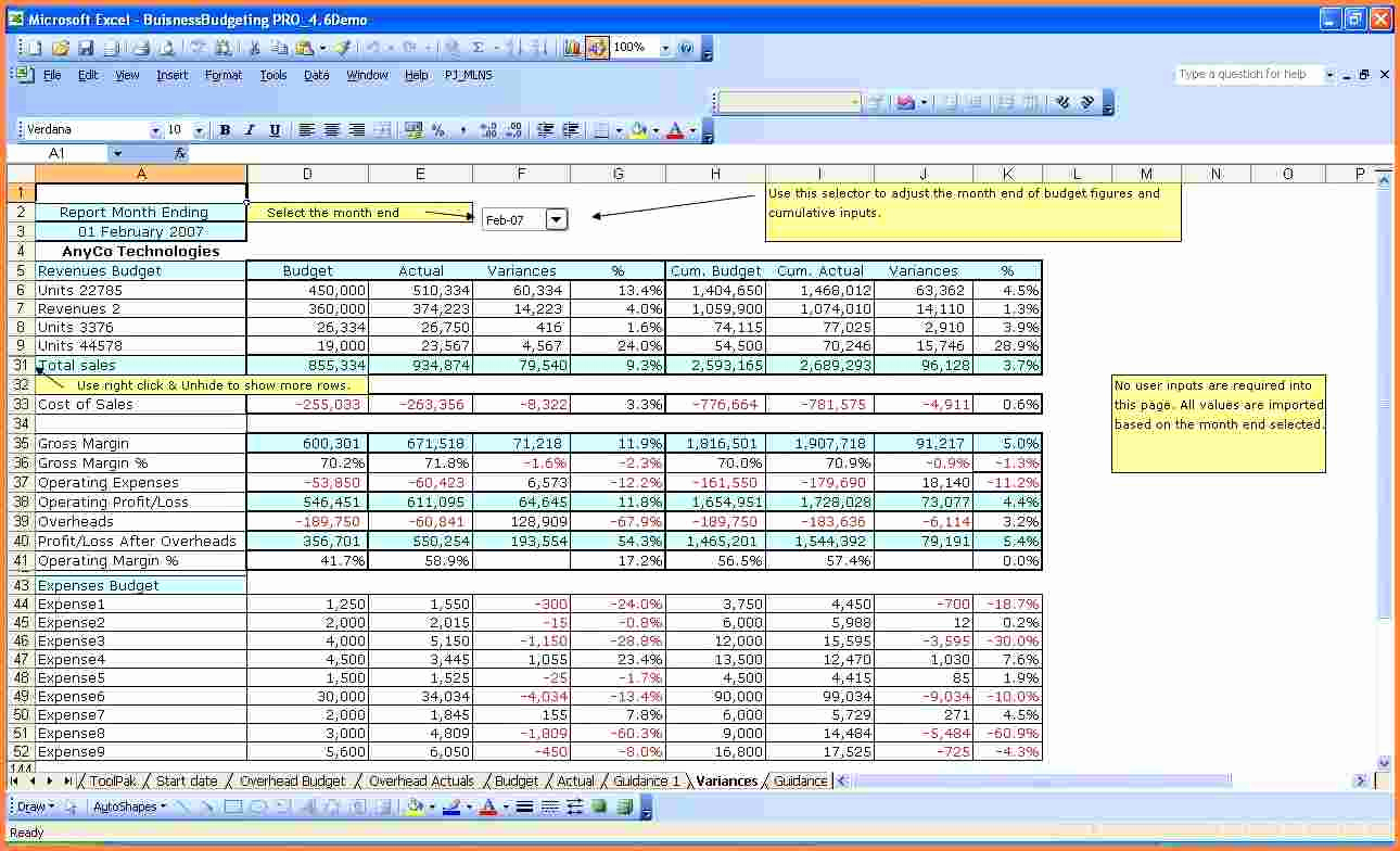 Microsoft Excel Budget Template Elegant 6 Financial Excel Spreadsheet