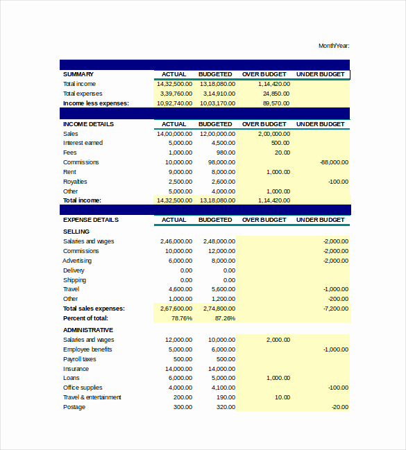 Microsoft Excel Budget Template Inspirational Spreadsheet Template Excel Providers