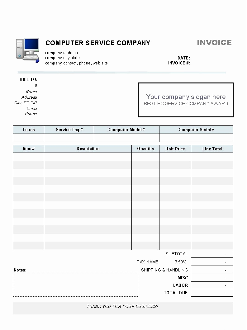 Microsoft Invoice Template Free Lovely Microsoft Fice 2007 Invoice Template Free Free