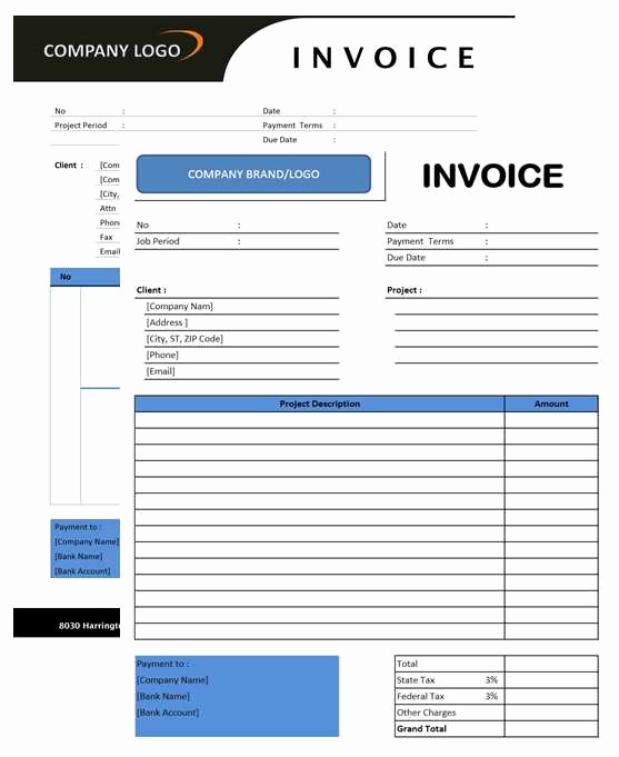 Microsoft Office Invoice Template Inspirational Consultant Invoice Officetemplates Net