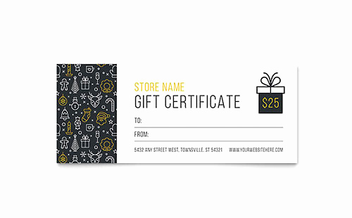 Microsoft Publisher Certificate Template Awesome Printable Gift Certificate Templates Free Downloads