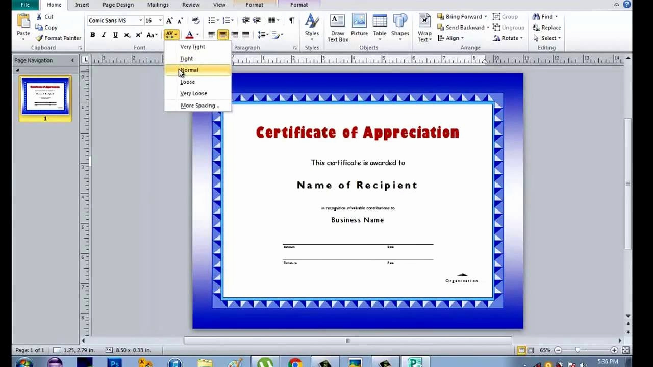 Microsoft Publisher Certificate Template Fresh How to Make Certificate Using Microsoft Publisher