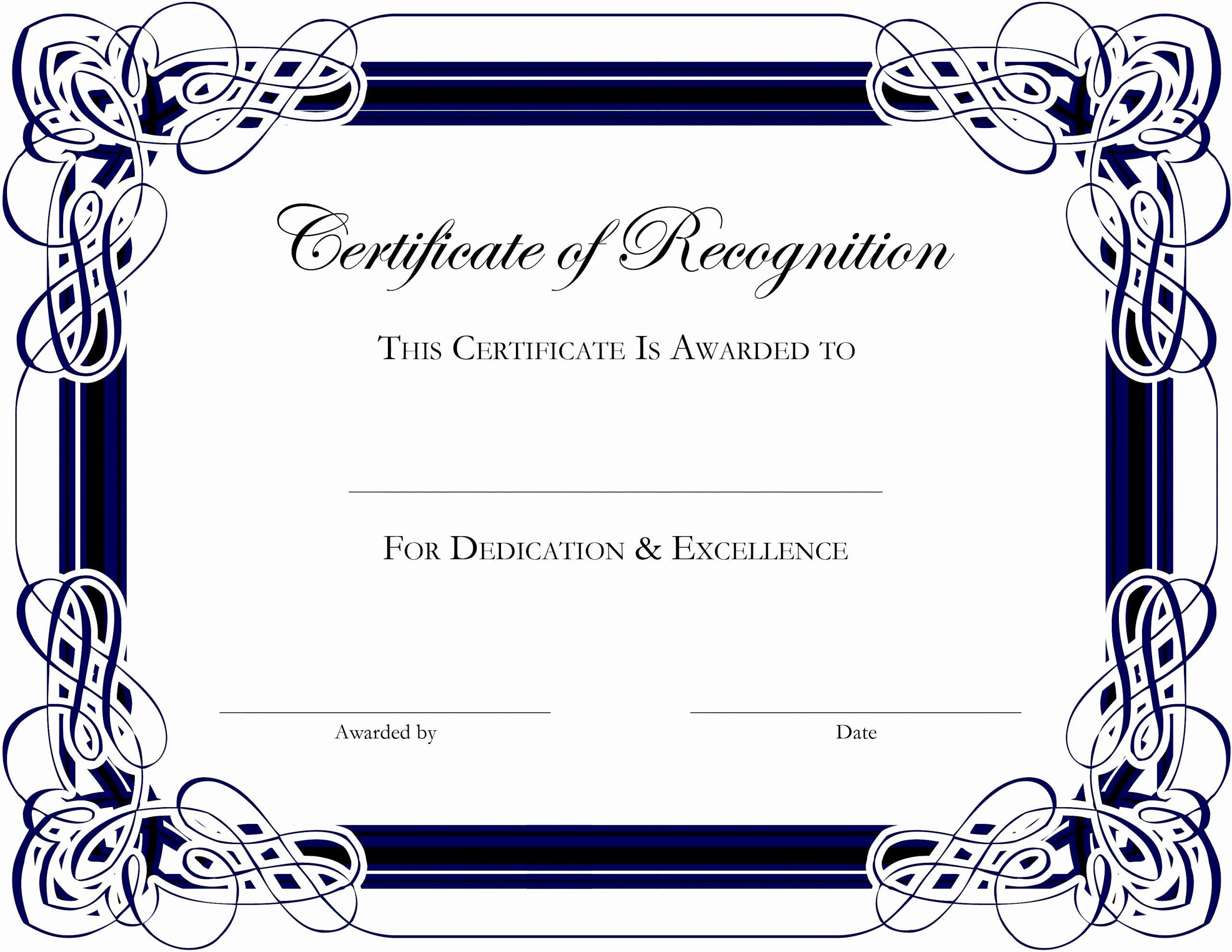 Microsoft Publisher Certificate Template Inspirational Certificate Template Free Publisher
