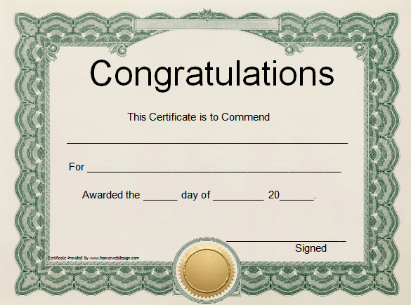 Microsoft Word Certificate Template Free Awesome Blank Certificates