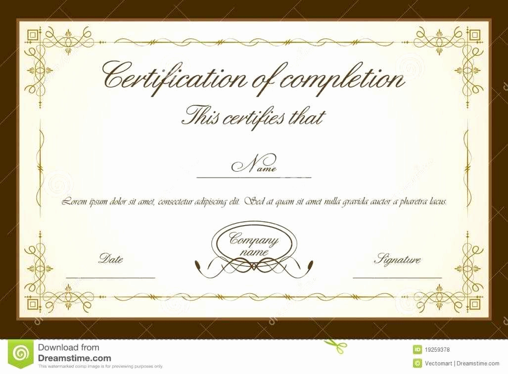Microsoft Word Certificate Template Free Best Of Certificate Templates Psd Certificate Templates