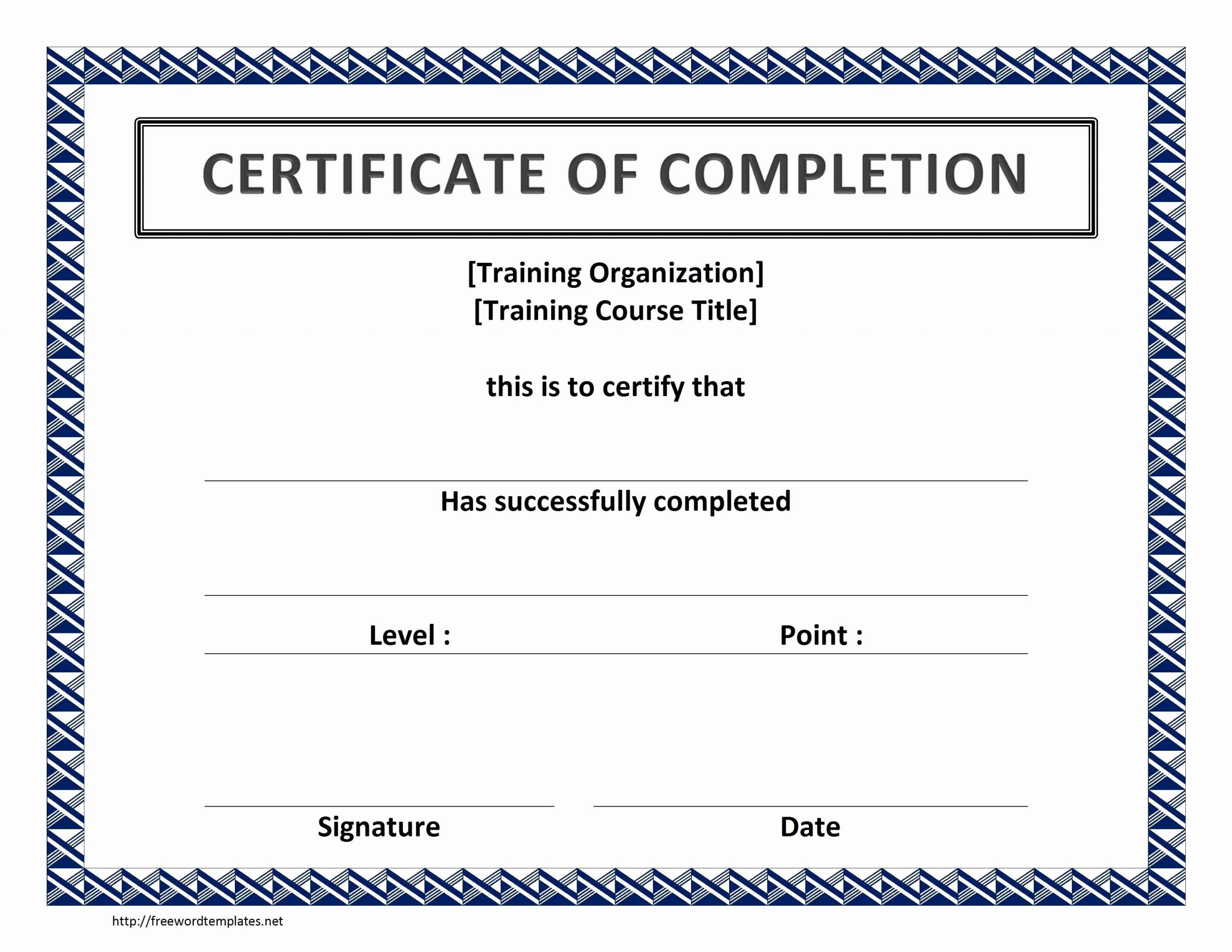 Microsoft Word Certificate Template Free Fresh Word Certificate Template