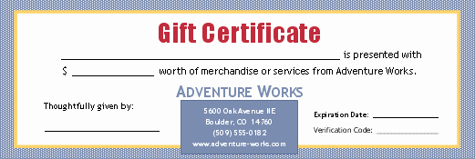 Money Gift Certificate Template Beautiful Gift Certificate for Cash Sum 3 Per Page
