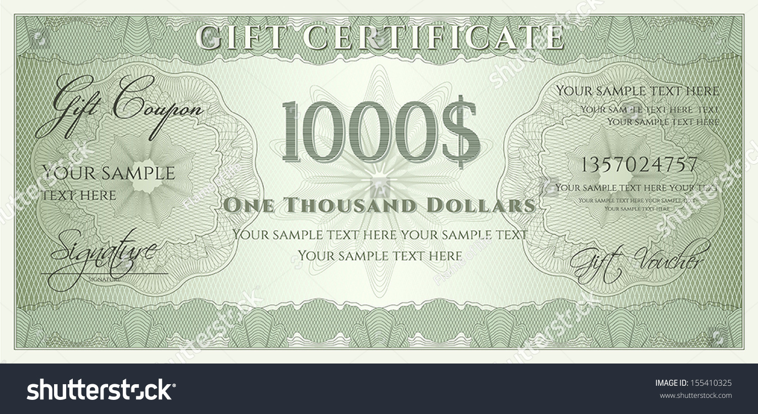 Money Gift Certificate Template Best Of Voucher Gift Certificate Coupon Ticket Template