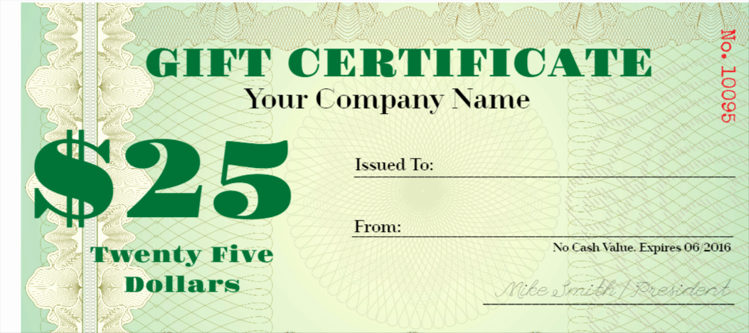 Money Gift Certificate Template Fresh Free Gift Certificates Maker Design Your Gift