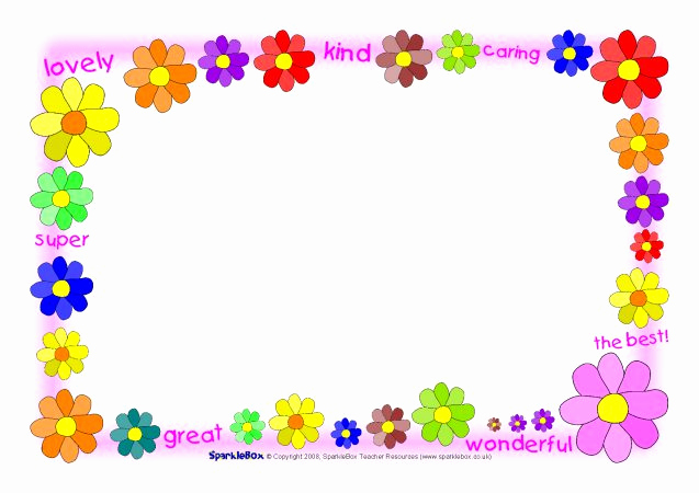 Mothers Day Menu Template Lovely Related Resources
