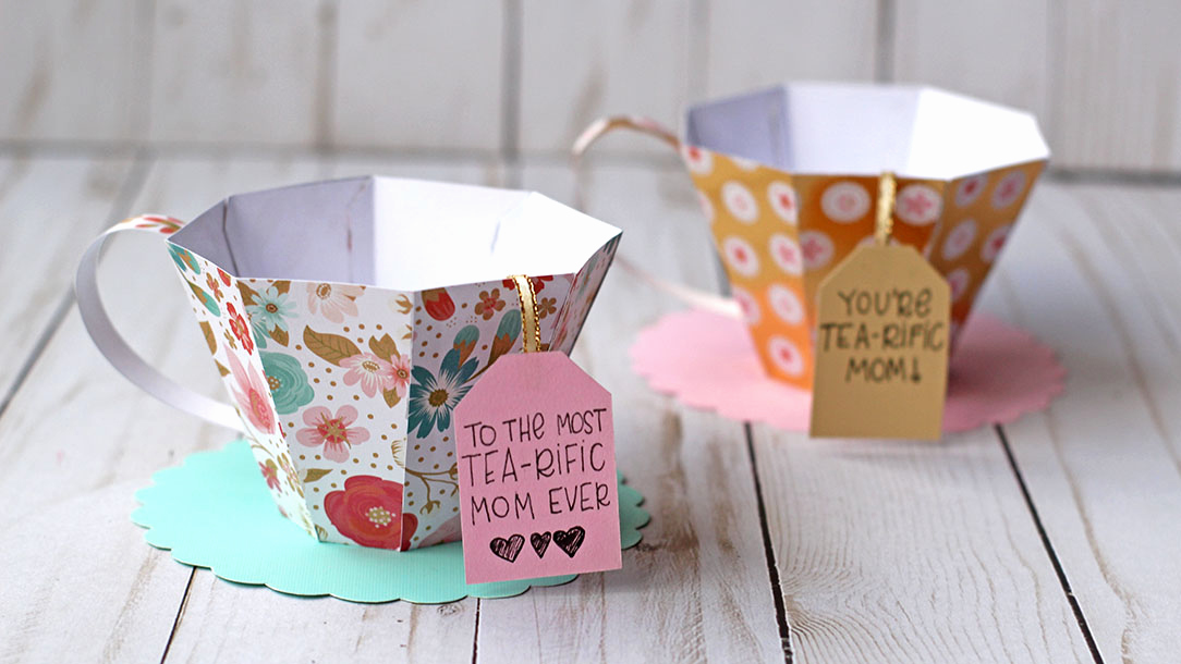 Mothers Day Menu Template Luxury 3d Paper Tea Cup for Mother S Day Essyjae