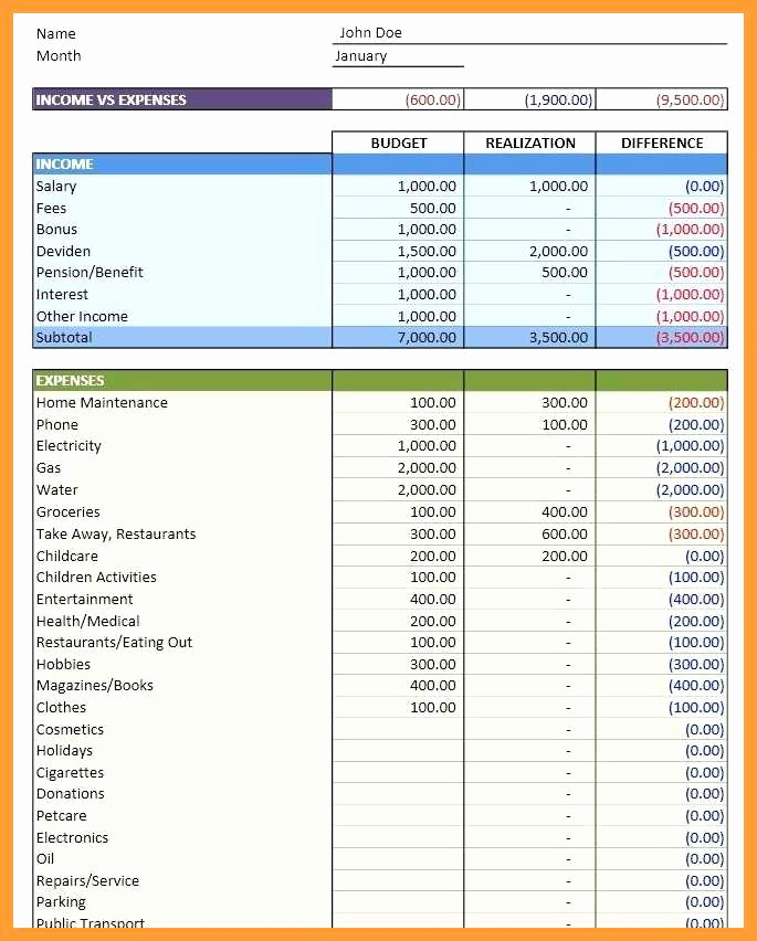 Ms Office Budget Template Inspirational 9 10 Microsoft Office Bud Template