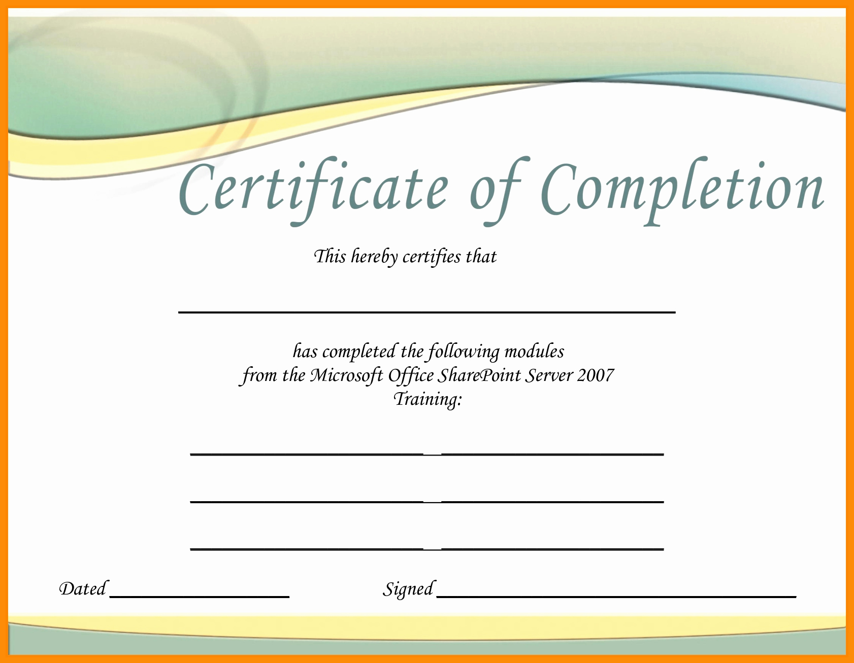 Ms Word Gift Certificate Template Awesome Gift Certificate Template Microsoft Word 2007