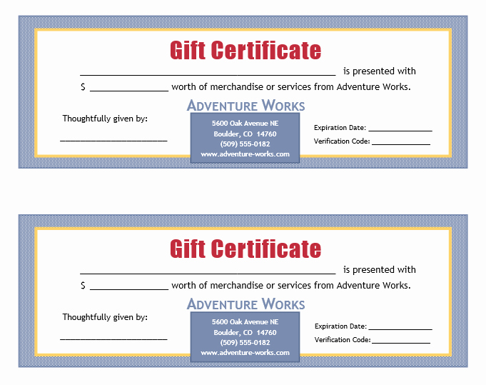Ms Word Gift Certificate Template Unique A T Voucher Template or A T Certificate Template is