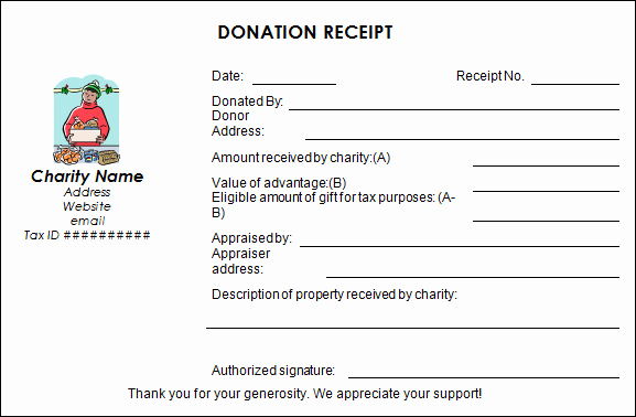 Non Profit Invoice Template Luxury Sample Donation Receipt Template 17 Free Documents In