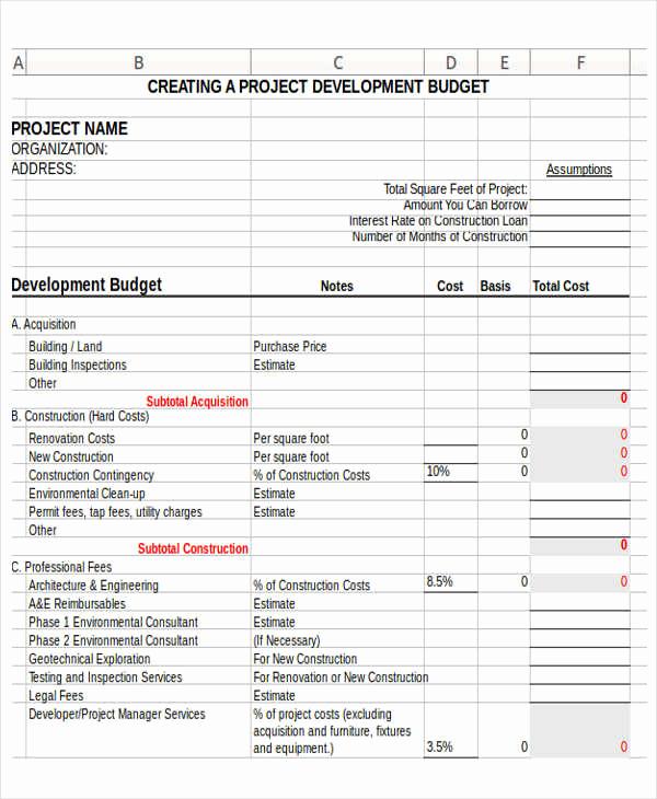 Non Profit organization Budget Template Elegant 12 Non Profit Bud Templates Word Pdf Excel Google