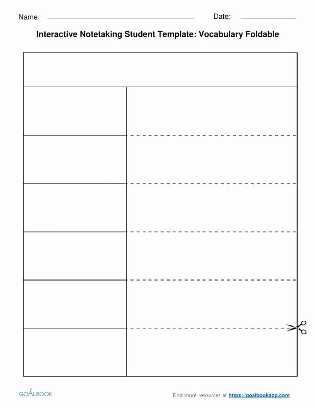 Note Taking Template Word Fresh Note Taking Template