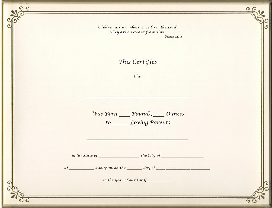 Official Blank Birth Certificate Template Elegant Best S Of Old Blank Birth Certificates Old Blank
