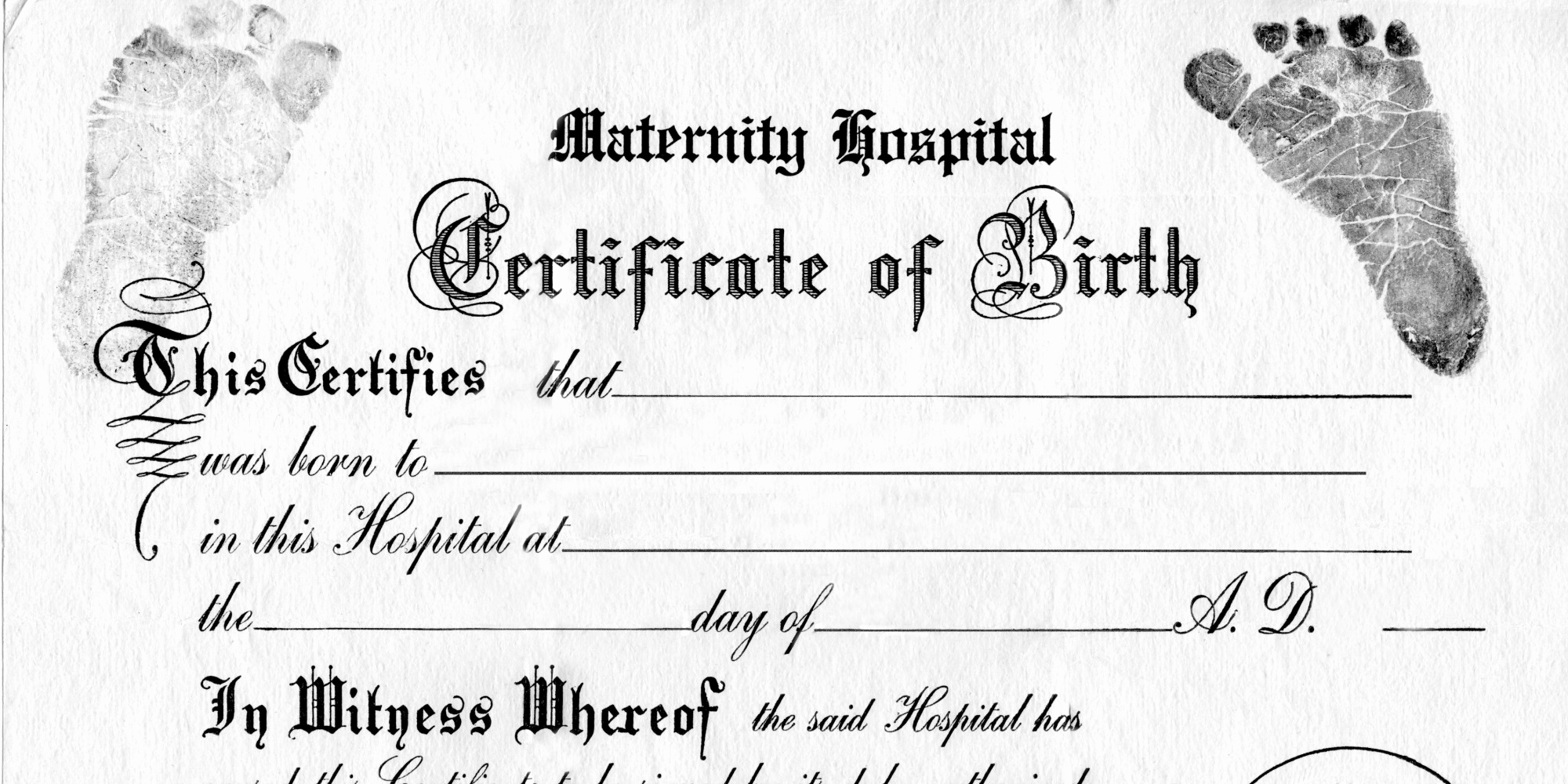 Official Blank Birth Certificate Template Fresh Does Gender No Longer Work Birth Certificates
