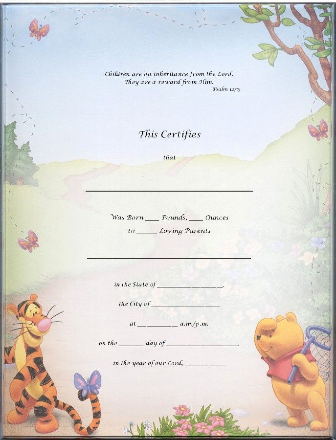 Official Blank Birth Certificate Template Lovely Blank Certificate Templates Kiddo Shelter