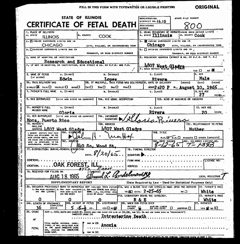 Old Birth Certificate Template Awesome 30 New Fetal Death Certificate Sa Pro Literacy