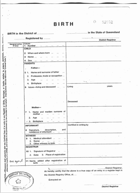 Old Birth Certificate Template Unique 15 Birth Certificate Templates Word & Pdf Free