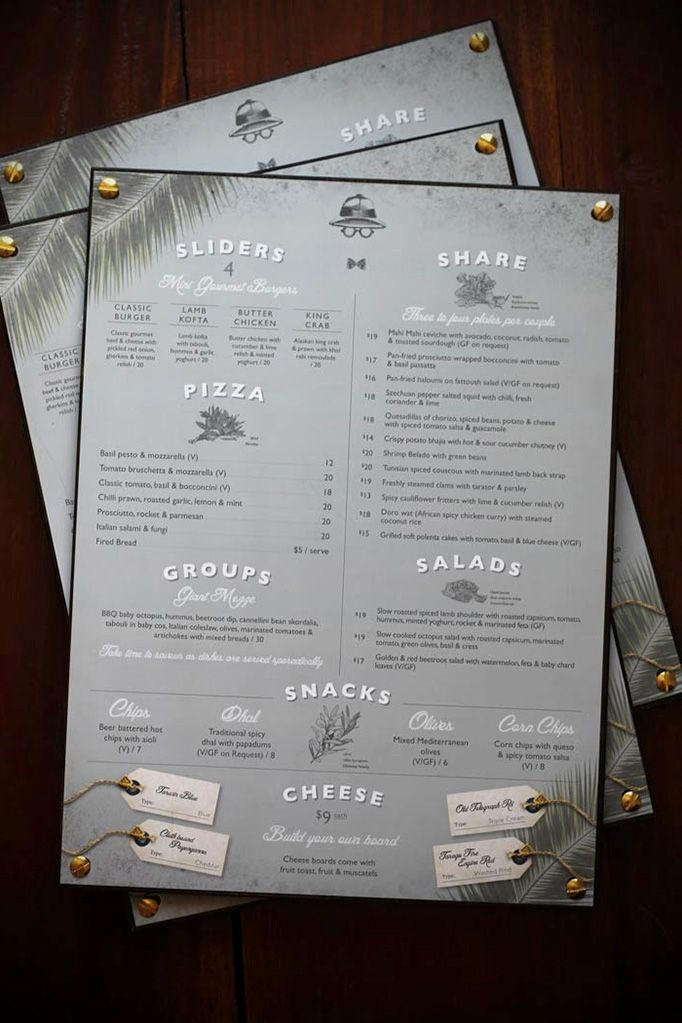 One Page Menu Template Beautiful 35 Beautiful Restaurant Menu Designs