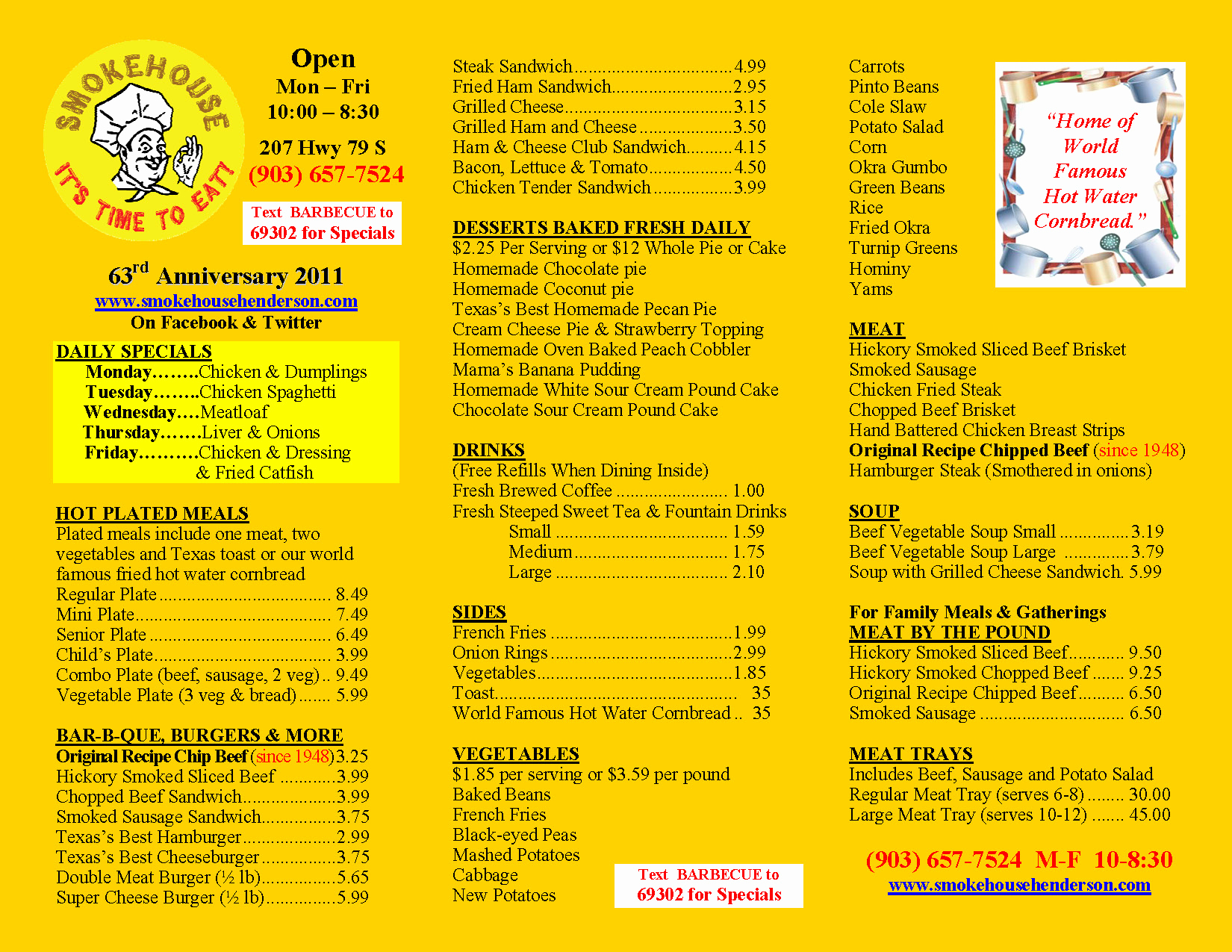 One Page Menu Template New E Page Restaurant Menu Templates Free Programs